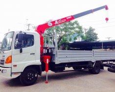 Bán xe tải hino FC 6T4/6400 kg gắn cẩu UNIC 3 tấn mới 100% nhập khẩu . giá 200 triệu tại Tp.HCM