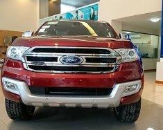 Bán Ford Everest 2.2AT bản Trend 2018 mới 100%, màu đỏ mận. Vui lòng L/H 090.778.2222 giá 1 tỷ 99 tr tại Hà Nội