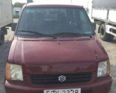 Cần bán Suzuki Wagon R đời 2002, màu đỏ giá 115 triệu tại Tp.HCM