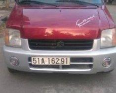 Kẹt tiền bán Suzuki Wagon R+ đời 2007, màu đỏ giá 135 triệu tại Tp.HCM