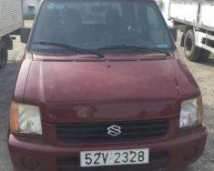 Bán Suzuki Wagon R+ sản xuất 2002, màu đỏ, máy móc ổn giá 112 triệu tại Tp.HCM