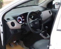 Cần bán gấp Hyundai Grand i10 đời 2015, màu trắng, 318tr giá 318 triệu tại Hà Nội