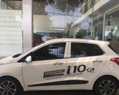 Bán Hyundai Grand i10 1.2 2018, màu trắng, giá tốt giá 395 triệu tại BR-Vũng Tàu