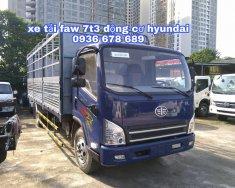 Xe tải FAW 7t3 (fAW 7 tấn 3) - xe tải faw 7,3 tấn động cơ hyundai, thùng dài 6m25 giá 540 triệu tại Hà Nội