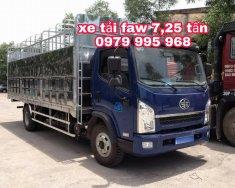 Xe tải FAW 7,25 tấn, thùng dài 6m3, máy to cầu to, đời mới nhất giá 460 triệu tại Hà Nội