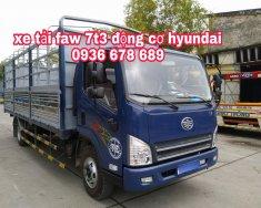 Xe tải Faw 7t3 (7 tấn 3), động cơ Hyundai, thùng dài 6m25, giá rẻ nhất toàn quốc giá 539 triệu tại Hà Nội