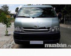Cần bán gấp Toyota Hiace đời 2008, màu bạc, nhập khẩu giá 340 triệu tại Đà Nẵng