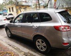 Bán xe Hyundai Santa Fe SLX eVGT sản xuất 2010, màu bạc, nhập khẩu   giá 780 triệu tại Hà Nội