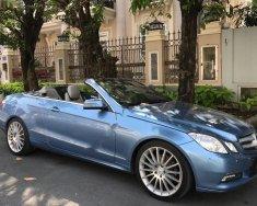 Bán Mercedes E350 Cabriolet đời 2010, màu xanh lam, nhập khẩu giá 1 tỷ 290 tr tại Tp.HCM