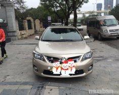 Cần bán Toyota Corolla altis đời 2012, màu nâu, nhập khẩu chính hãng, ít sử dụng giá 650 triệu tại Hà Nội