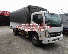 Xe tải Veam vt651, động cơ Nissan tiết kiệm nhiên liệu, thùng dài 5m1, tải trọng 6.5 tấn giá 439 triệu tại Hà Nội