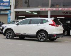 Cần bán xe Honda CR V đời 2018, màu trắng, nhập khẩu Thái giá 1 tỷ 356 tr tại Hà Nội
