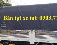Bạt xe tải chất lượng, mua bạt xe tải chất lượng, giá bạt xe tải 3 mảnh giá 750 triệu tại Bình Dương