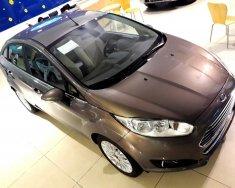 Bán xe Ford Fiesta 1.5L AT Titanium đời 2017, màu nâu, giá chỉ 490 triệu giá 490 triệu tại Tp.HCM