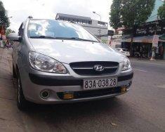 Bán ô tô Hyundai Getz đời 2010, màu bạc, nhập khẩu   giá 265 triệu tại Cần Thơ
