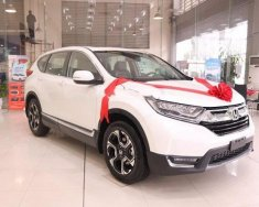 Bán Honda CR V đời 2018, màu trắng, nhập khẩu giá 1 tỷ 256 tr tại Hà Nội