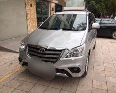 Bán Toyota Innova 2.0E sản xuất năm 2014, màu bạc số sàn, giá 582tr giá 582 triệu tại Hà Nội