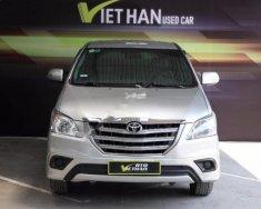Cần bán xe Toyota Innova 2.0E sản xuất 2015, màu bạc giá 626 triệu tại Hà Nội