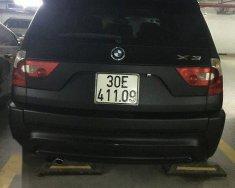Cần bán lại xe BMW X3 sản xuất 2005, màu đen, giá tốt giá 390 triệu tại Hà Nội