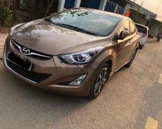 Xe Hyundai Elantra 1.8 AT sản xuất 2014, màu nâu, xe nhập giá 580 triệu tại Tp.HCM