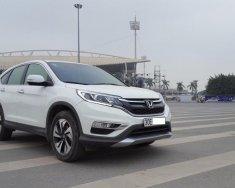 Cần bán lại xe Honda CR V 2.4 AT - TG 2017, màu trắng, ít sử dụng giá 1 tỷ 60 tr tại Hà Nội