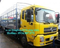 Giá bán xe tải Dongfeng B170 nhập khẩu 9T35 - 9,35 tấn - 9.35T máy Cummins giá 709 triệu tại Tp.HCM
