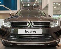 (ĐẠT DAVID) Bán Volkswagen Touareg đời 2017, màu nâu, xe mới 100% nhập khẩu chính hãng - LH: 0933.365.188 giá 2 tỷ 499 tr tại Tp.HCM