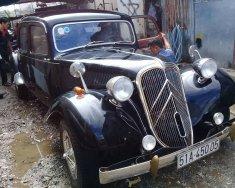 Bán xe ô tô cổ Citroen Traction Avant 1943 màu đen giá 160 triệu tại Tp.HCM