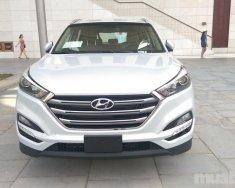 Bán xe Hyundai Tucson sản xuất 2018, màu trắng, nhập khẩu chính hãng giá 828 triệu tại Đà Nẵng