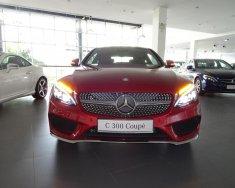 Bán Mercedes C300 Coupe đời 2018, màu đỏ, nhập khẩu giá 2 tỷ 699 tr tại Tp.HCM