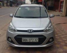 Bán Hyundai Grand i10 năm sản xuất 2015, màu bạc, giá 310tr giá 310 triệu tại Bắc Giang