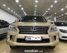 Cần bán gấp Lexus LX 570 năm 2009, màu vàng, xe nhập giá 2 tỷ 968 tr tại Hà Nội