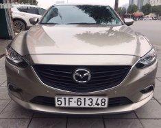 Bán xe Mazda 6 2.0AT đời 2016, màu nâu, nhập khẩu nguyên chiếc, như mới giá 795 triệu tại Hà Nội