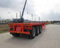 Bán và cho thuê mooc xương 3 trục Doosung chở Container tải 33.5 tấn, giá rẻ nhất giá 295 triệu tại BR-Vũng Tàu