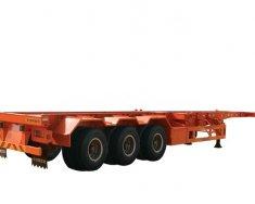 Về mới lô mooc xương Doosung 3 trục 40 feet tải 33.5 tấn, giao ngay trên toàn quốc giá 295 triệu tại Cà Mau