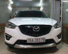 Bán Mazda CX 5 đời 2014, màu trắng chính chủ, giá chỉ 739 triệu giá 739 triệu tại Hải Phòng