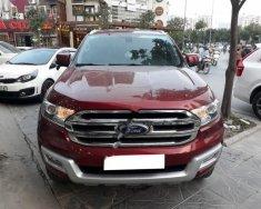 Bán ô tô Ford Everest năm sản xuất 2016, màu đỏ, nhập khẩu giá 1 tỷ 190 tr tại Hà Nội