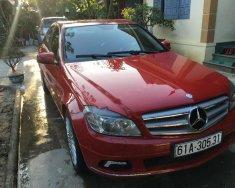 Bán Mercedes C250 CGI sản xuất 2010, màu đỏ chính chủ, giá 690tr giá 690 triệu tại Bình Dương