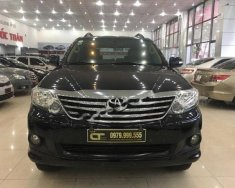 Bán xe Toyota Fortuner 2.7V 4x2 AT đời 2013, màu đen giá 779 triệu tại Hải Phòng