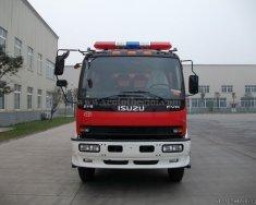 Lô xe chữa cháy Isuzu nhập khẩu nguyên chiếc vừa cập bến, thể tích bồn lớn, giá gốc giá 2 tỷ 100 tr tại Tp.HCM