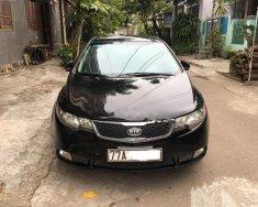 Bán Kia Forte sản xuất 2012, màu đen xe gia đình giá 365 triệu tại Bình Định