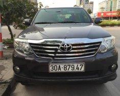 Bán Toyota Fortuner năm sản xuất 2013, màu xám, giá cạnh tranh giá 765 triệu tại Hà Nội