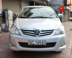 Cần bán lại xe Toyota Innova 2.0G đời 2008, màu bạc giá 370 triệu tại Hà Nội