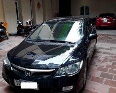 Cần bán xe Honda Civic 1.8MT đời 2007, màu đen, xe gia đình, giá cạnh tranh giá 302 triệu tại Hà Nội