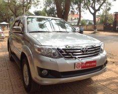 Bán ô tô Toyota Fortuner 2.7V 4x4 AT sản xuất 2013, màu bạc, giá 750tr giá 750 triệu tại Đắk Lắk