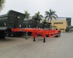 Chuyên bán mooc xương 45 feet - 3 trục Doosung 31 tấn, giá rẻ nhất miền nam giá 330 triệu tại Bình Dương