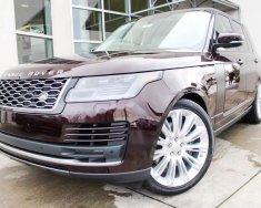 Bán ô tô LandRover Range Rover HSE 3.0 sản xuất 2018, màu đỏ, nhập khẩu nguyên chiếc giá 8 tỷ 627 tr tại Hà Nội