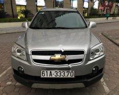 Bán Chevrolet Captiva 2.0 Max 2010, màu bạc ít sử dụng giá 395 triệu tại Hà Nội