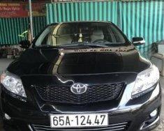 Cần bán gấp Toyota Corolla altis đời 2009, màu đen đẹp như mới giá 570 triệu tại Cần Thơ
