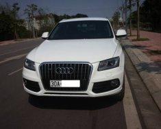 Chính chủ bán Audi Q5 2.0AT sản xuất năm 2015, màu trắng, nhập khẩu giá 1 tỷ 650 tr tại Hà Nội